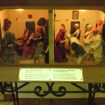 The Life of the Mahatma explained with dolls and formica